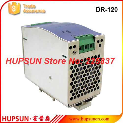 DR-120 fonte 120w 220vAC to DC 12v 10a 24v 5a 48v DIN Rail industrial power supply source LED driver transformador free shipping<br>