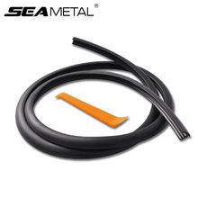 1.6M Car Soundproof Window Dashboard Windshield Windows Edge Sealing Strip Automobile Seal Noise Insulation Rubber Trim For KIA(China)