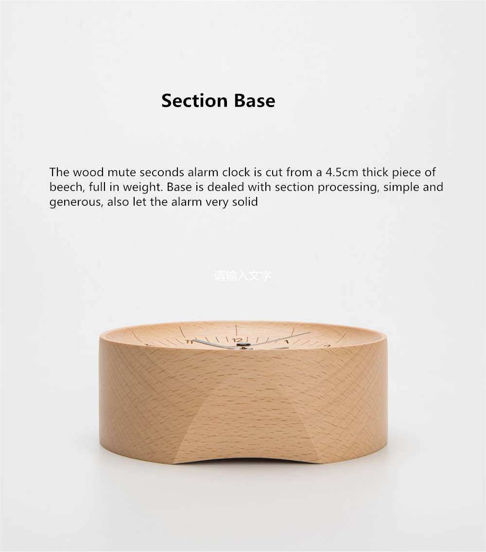 Xiaomi Mute Wooden Alarm Clock (5)