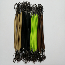 20pcs/lot Elastic Hair bands gum  hook ponytail holder Bungee Hair thick updo quick hair tool styling dresser hair Accessories