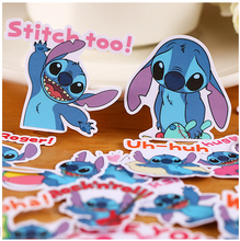 22pcs Creative Cute Self-made Stitch sticker Scrapbooking Stickers /Decorative Sticker /DIY Craft Photo Albums/trunk