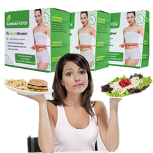 15boxes/450pcs 2017 Hot Safe Belly Slimming Patches Best Slim Product Chinese herbal Weight Loss patch(China)