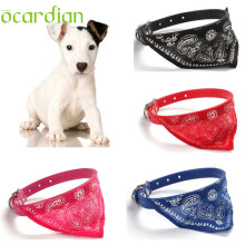 4 PCS Collar for Dogs Adjustable Pet Dog Puppy Cat Neck Scarf Bandana Collar Neckerchief High quality fashion Aug8