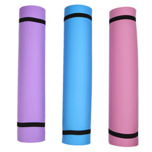 6mm Thick Durable Exercise Fitness Non-Slip Yoga Mat Lose Weight Meditation Pad(China)