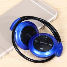 6 Colors Portable Mini 503 Neckband Sport Wireless Bluetooth 3.0 Handsfree Stereo Headset Headphone Earphone for Mp3 Player(China)