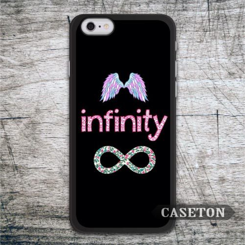 Infinity With Angel Wings font b Case b font For font b iPhone b font font