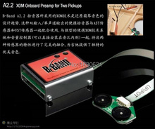 2015 New + Guitar Factory + Finland Original B-Band A2.2 UST/AST(29R-1470) Dual Piezo Acoustic Guitar Pickup System with XOM