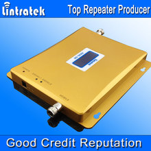 LCD display Dual Band GSM Repeater GSM Booster 3G 2100Mhz Amplifier 3G GSM Dual Band Mobile Phone Booster