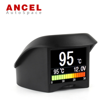 ANCEL A202 Mini OBD Digital Meter Display Coolant Temperature Gauge Voltage Tachometer Speed Smart Code DTC Reader Scan Tool New