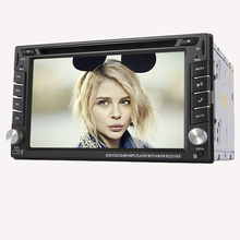 6.2inch 2din Car headunit GPS Navigation Car Stereo HD TouchScreen Car DVD Player unit USB Built-in Bluetooth+Free rear Camera(China)