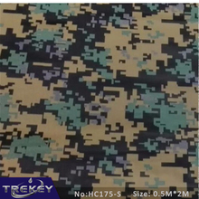 0.5M*2M Green Camouflage Water Transfer Printing Film HC175-S, Hydrographic film,Pva Water Soluble Film Hidrografik