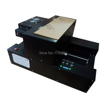 A4 size desktop eco solvent flatbed printer