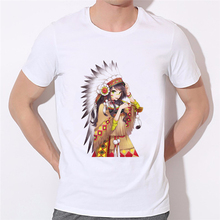 Indian beauty fashion printing men T-shirt manufacturers selling custom clothing brand Indian Motorcycle T Shirt W-276#