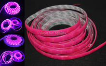 Led Strip SMD5630 DC12V Flexible Neon Light 60 leds /m 5m/lot Waterproof IP66 Silicone Color Pink,Blue,Purple,Green