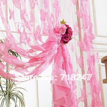 300*290cm Butterfly String Window Curtain Line Fringe Panel / Room Divider / Door Curtains, Ready Made, Free shipping