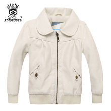 XIAOYOUYU Size 80-100 cm Baby Girl Outdoor Jacket Kids Leather Coat Fashion Children Outwear(China)