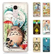 Studio Ghibli Ghiblies totoro Hard Transparent Case Cover for Xiaomi Redmi Mi Note 2 3 3S 4 4C 4A 4S 5 5S Pro Plus