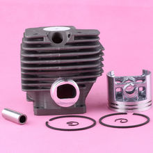 52mm Cylinder Piston Kit for Stihl MS380 038 MS 380 Chainsaw Rep # 1119 020 1202 1119 020 1204(China)
