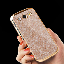 For Samsung Galaxy S3 Case i9300 Powder Bling Glitter TPU Cover Soft Silicone Phone Case For Samsung Galaxy S3 Neo Cases I9301(China)