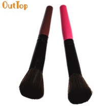 OutTop ColorWomen fashion design 1pc Cosmetic Makeup Brush Used for eyebrows, eyelashes, eyes and cheeks makeup Drop Shipping(China)