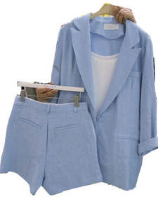 Jacket Shorts Suit L...