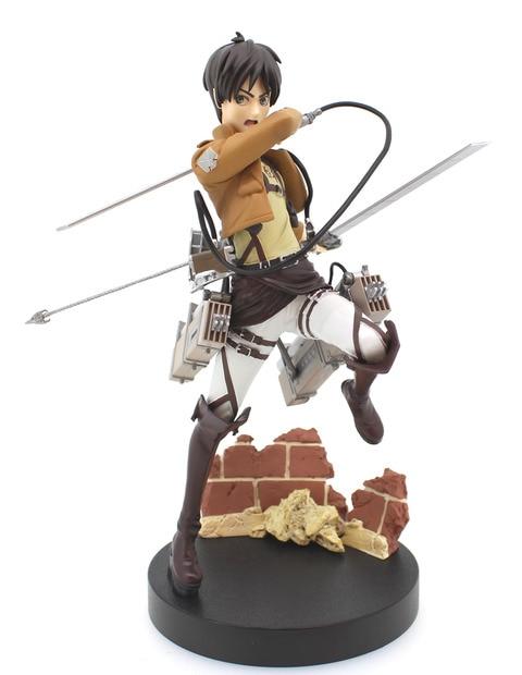 19cm Attack on Titan Japanese anime figure original Japan Ver. Eren Jaeger action figure collectible model toys<br><br>Aliexpress