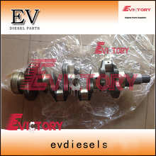 Steel KubotaV3800 V3800T V3800-DI-T CRANKSHAFT+bearing for Bobcat skid loader A770 S770(China)