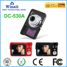 "Freeshipping 18MP Shooting 3x Optical Zoom 5.0MP CMOS Compact Digital Camera FHD 1080P 30fps 2.7"" Digital Video Recorder DC-530A"