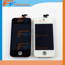 10 pcs TOP Quality 100% No pixel Lcd display For iPhone 4 display lcd Retina + Touch Screen digitizer Assembly+ Free Ship DHL