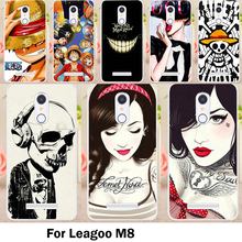 TAOYUNXI Cases Cover For Leagoo M8 Cover M8 Pro 5.7 Inch Bags Skin Soft TPU Yellow Lovely Minions Cell Phone Sheaths(China)