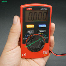 Handheld Digital Multimeters UNI-T UT120A AC/DC Voltage Meters Testers WITH Continuity Buzzer 4000 Count Display Auto Range(China)
