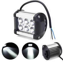 12V Offroad Driving Lamp Waterproof 18W Flash LED Work Light Bar Spotlight LED Work Car Lights For 4WD ATV(China)