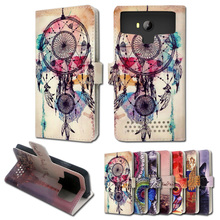 Luxury stand style printed cartoon painting flip leather case Doogee HomTom HT3,free gift,ZY03 - Global and retail center store