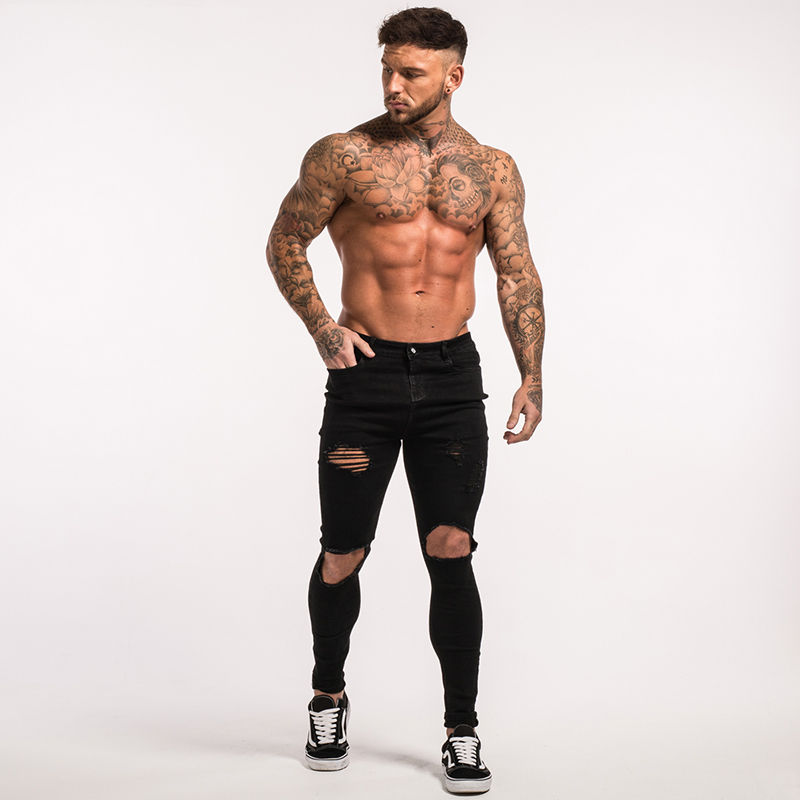-mens-skinny-jeans-black-ripped-stretch-ripped-repaired-zm25-10