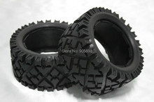5B Rear All Terrain Tire Set x 2pcs for 1/5 Baja 5B, without inner foam,Free shipping(China)