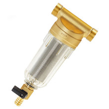 "1/2"" Inch 3/4"" Inch Copper Port Cleaner Filter Household Whole House Water Filter Pipes Central Water Purifier Descaling"