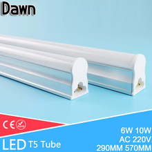 LED Tube T5 10W 6W Lampada LED T5 220v 240v 600MM 30CM LED Light Home Lighting Fluorescent Tube Lamp Lampara Bombilla Ampoule(China)