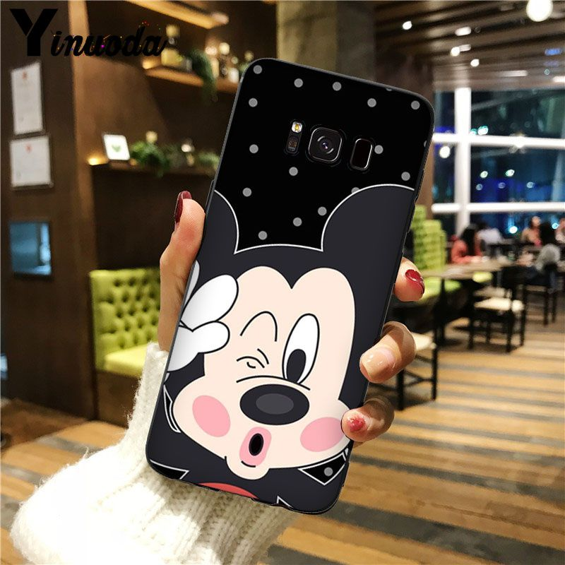 Cute cartoon Mickey Minnie Mouse