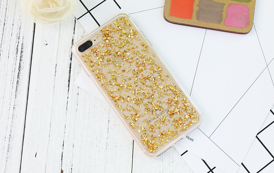 DOEES For iPhone 7 6 6S Plus 5 5S SE Case Luxury Cute Glitter Clear Case For Samsung Galaxy S8 Plus S7 S6 Edge S5 Note 7 5 Back Cover (5)