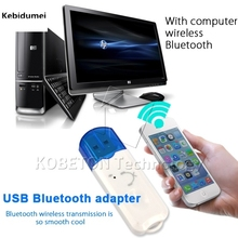 Kebidumei Handfree USB Wireless Bluetooth Music Audio Receiver Adapter for Speaker for iPhone 6 for Samsung S5 for HTC for SONY(China)