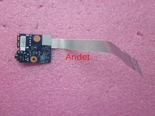 New Original for Lenovo ThinkPad E430 E430C E445 USB Board Audio Subcard Board with Cable 04W4126 LS-8133P
