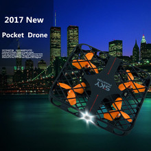 2017 Newest Square mesh Mini rc Pocket  drone 2.4G 4ch  6Axis headless 3D Flip RC Quadcopter UFO Toy Kit Nano RC Drone vs x12s