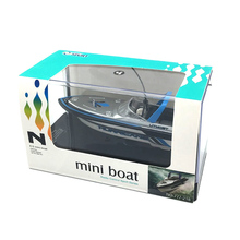 LNL  Super Mini Radio RC Remote Control Speed Boat Dual Motor Toy (China)