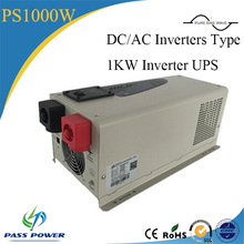 Single Output Type and DC/AC Inverters Type 1000w/1kw inverter with ups function