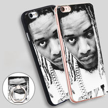 Fetty Wap Phone Ring Holder Soft TPU Silicon Case Cover for iPhone 4 4S 5C 5 SE 5S 6 6S 7 Plus