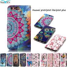 Huawei P10 P10Lite Case Luxury Flip Leather Case Huawei P10 Lite P10 Plus Funda Wallet Card Stand Phone Cover Hawei P 10 P10Plus