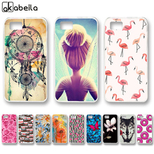 AKABEILA Soft Hard Phone Cases For ASUS Zenfone Pegasus 3 S ZC521TL Asus ZenFone 3S Max ZC521TL Cover Nutella Flamingo Bag(China)