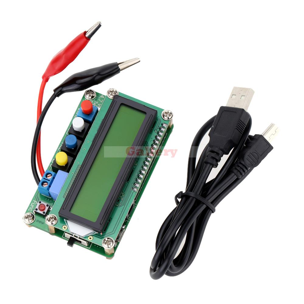 Lc100-a Digital Lcd High Precision Inductance Capacitance L C Meter Mini Usb Interface Capacitor Test Mini Usb Mini Usb Fridge<br>