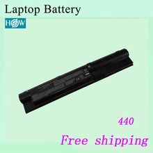 Hot sale 6600mah 9cells 440 G1 Laptop battery For HP ProBook 445 450 455  470 Replacement batteries