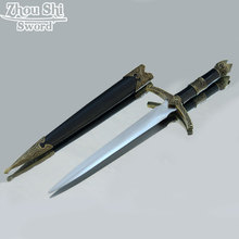 Exquisite gift sword carved stainless steel knife medieval sword retro home decor small sword